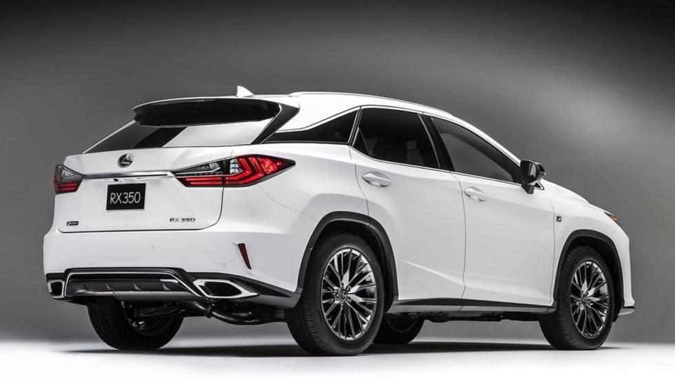 Lexus RX 2016 tres cuartos trasero