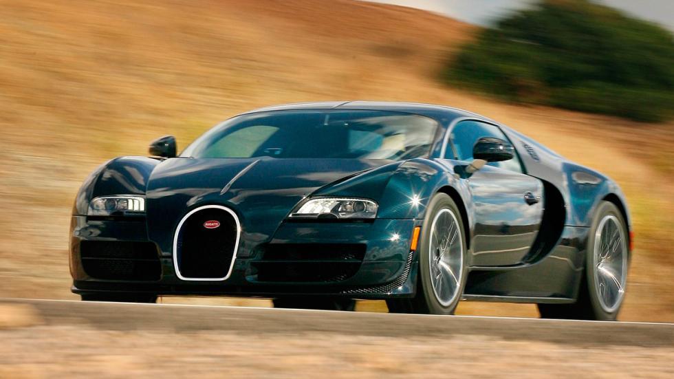 Bugatti Veyron W16 Super Sport delantera