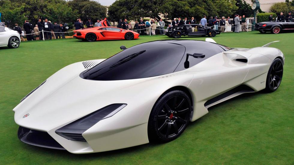 SSC Tuatara 6.9 V8 Twin Turbo delantera