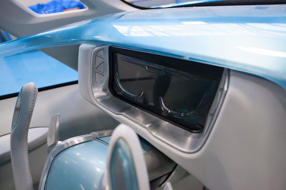 Pantalla interior Iveco Vision