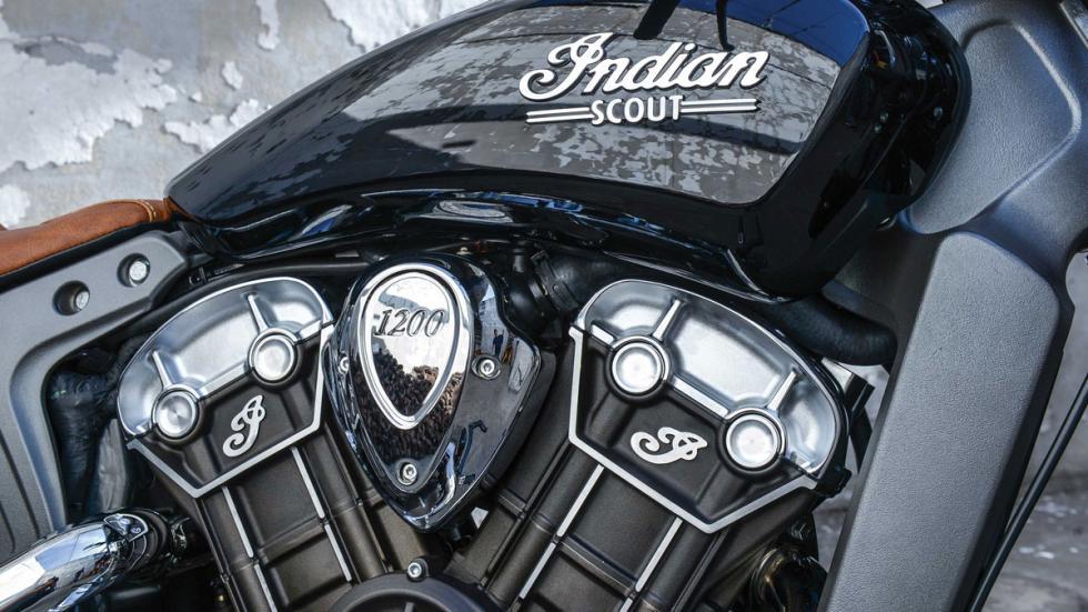 100 CV para la Scout 2015 con motor V-Twin