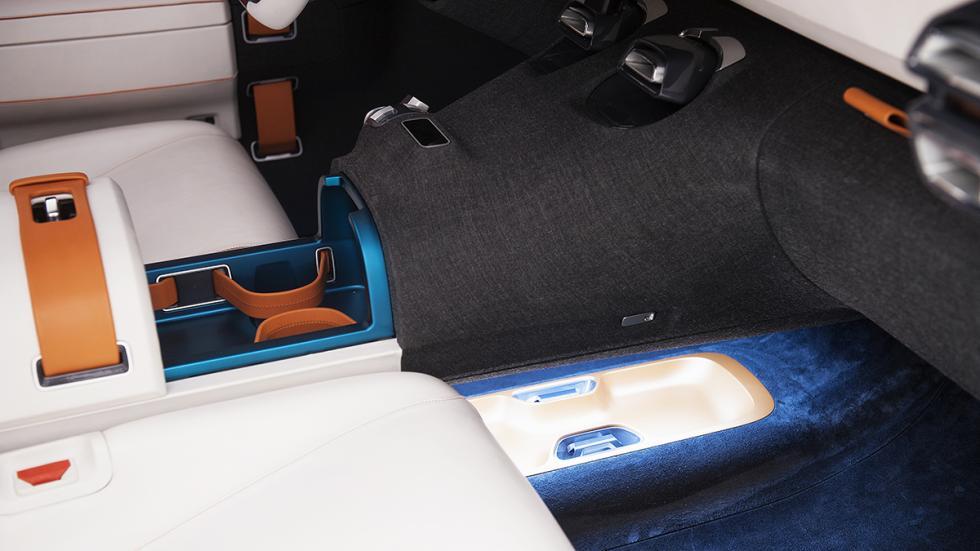 Citroën AirCross Concept prototipo interior detalle huecos