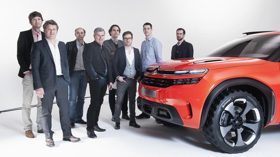 Citroën AirCross Concept prototipo equipo