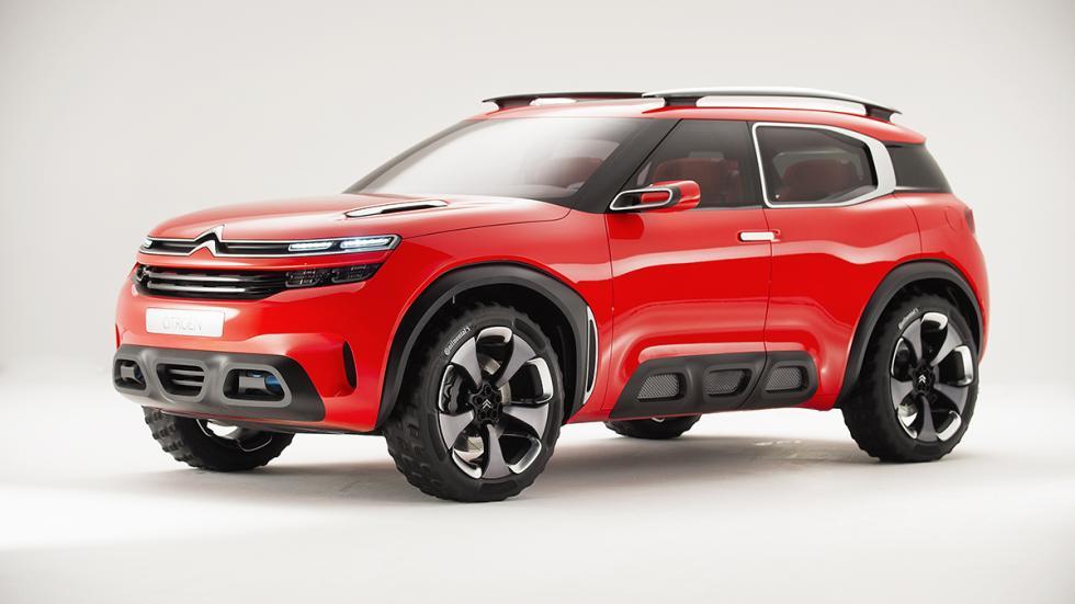 Citroën AirCross Concept prototipo frontal