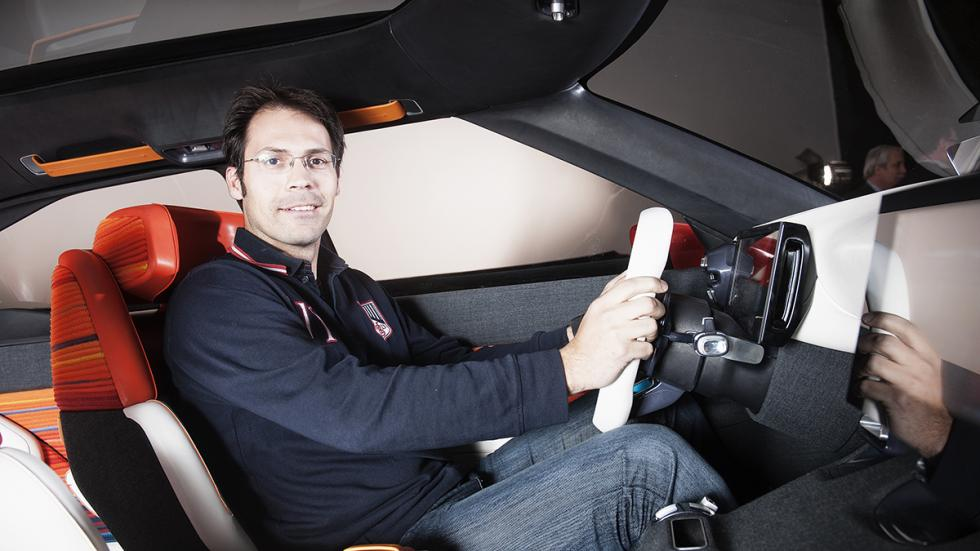 Citroën AirCross Concept prototipo interior