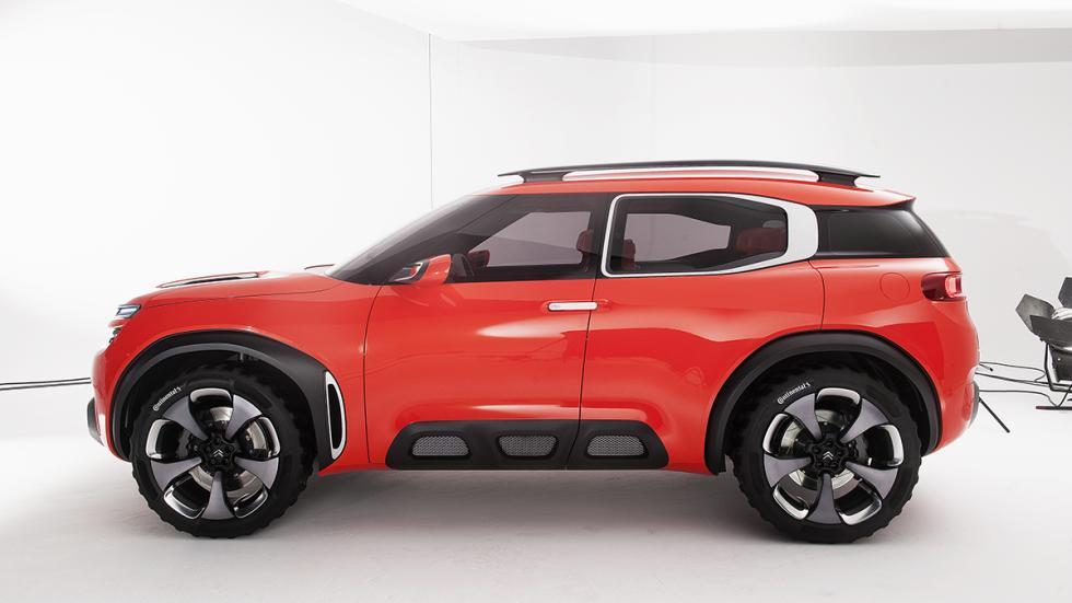 Citroën AirCross Concept prototipo lateral