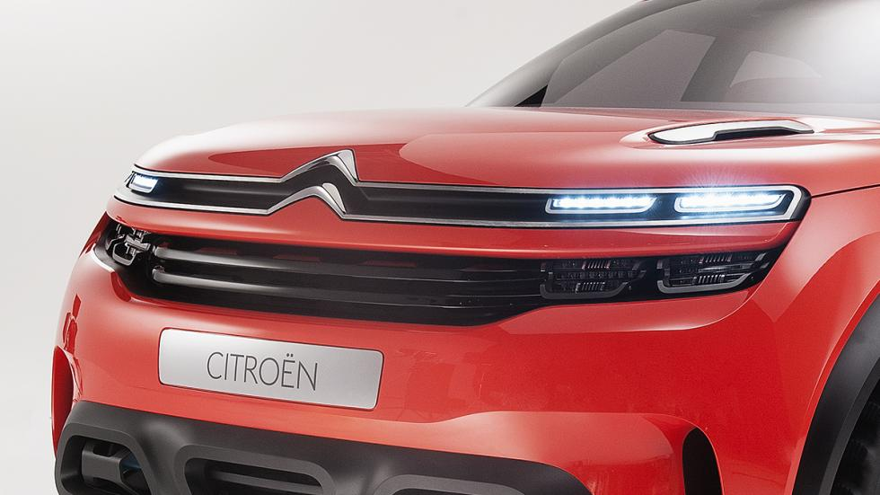 Citroën AirCross Concept prototipo volante