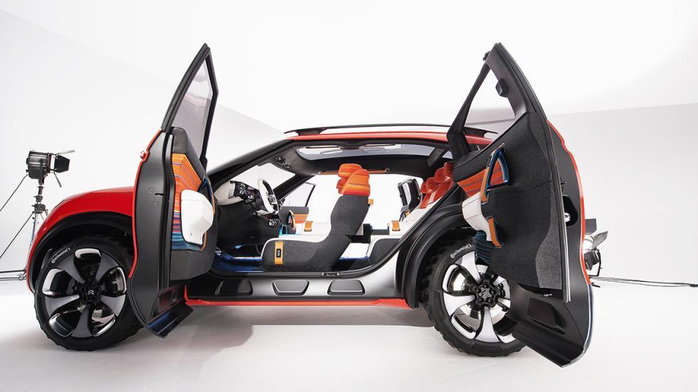 Citroën AirCross Concept prototipo puertas