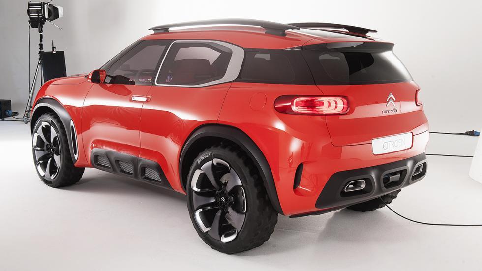 Citroën AirCross Concept prototipo trasera