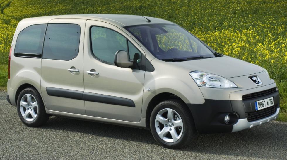 Peugeot Partner Tepee delantera