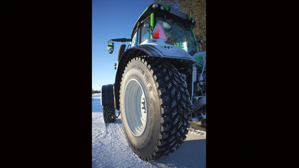Neumático de invierno para tractores