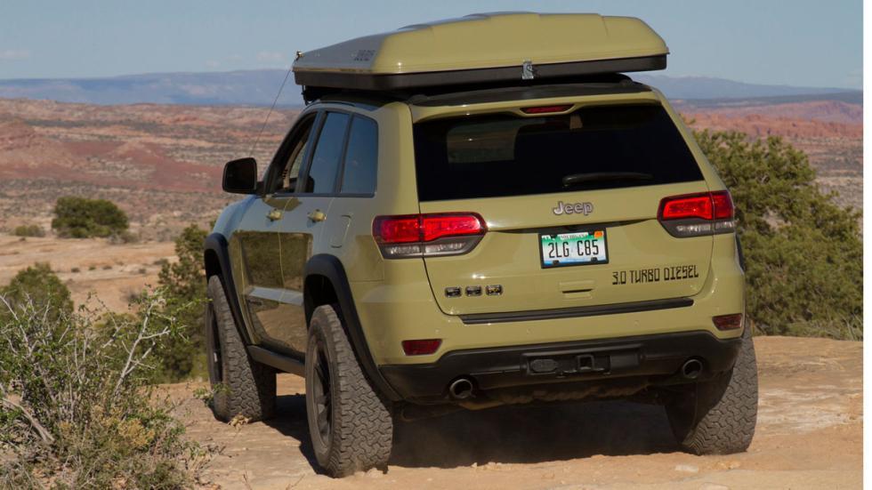 Jeep Grand Cherokee Overlander trasera