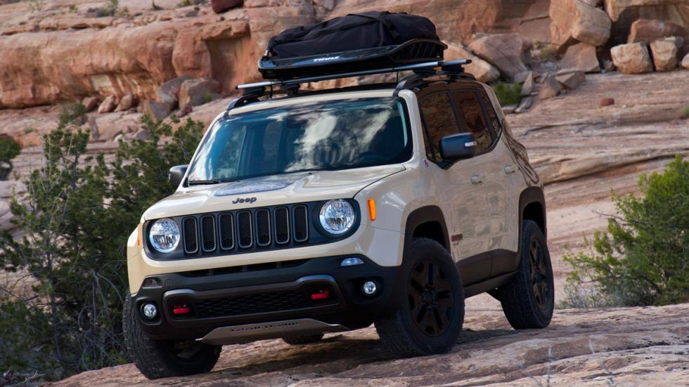Jeep Renegade Desert Hawk frontal