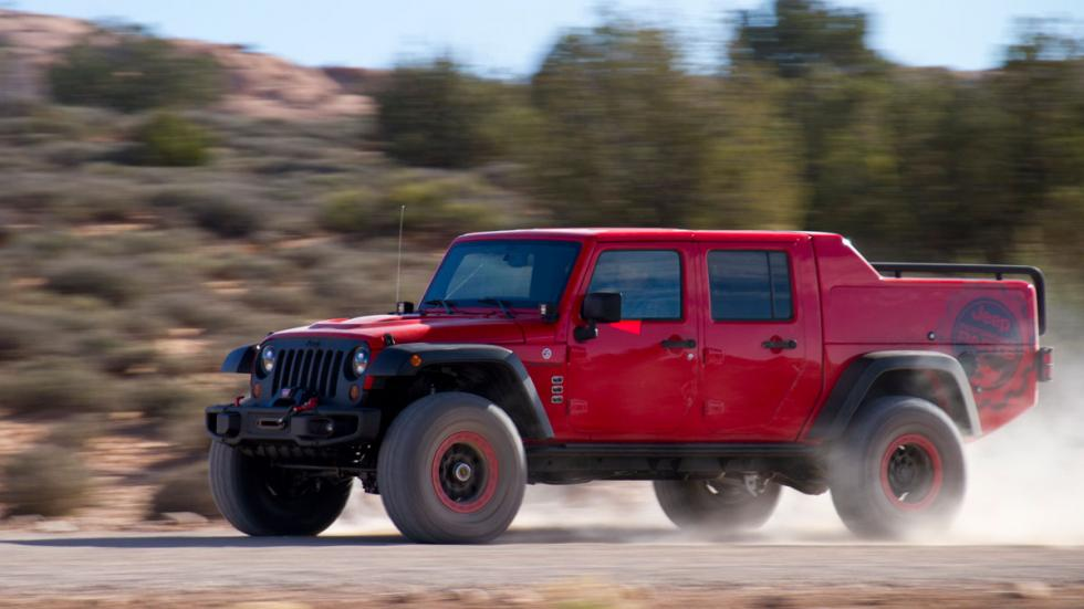 Jeep Wrangler Red Rock Responder lateral