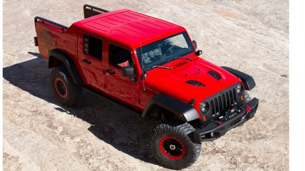Jeep Wrangler Red Rock Responder aérea