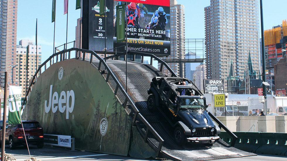 Recorrido 'offroad' de Jeep
