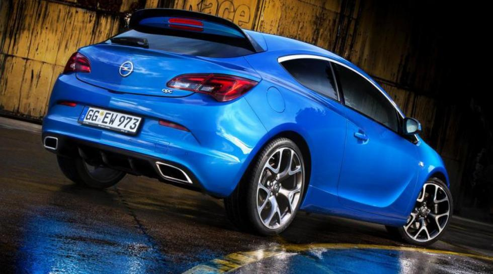 Open Astra GTC OPC trasera
