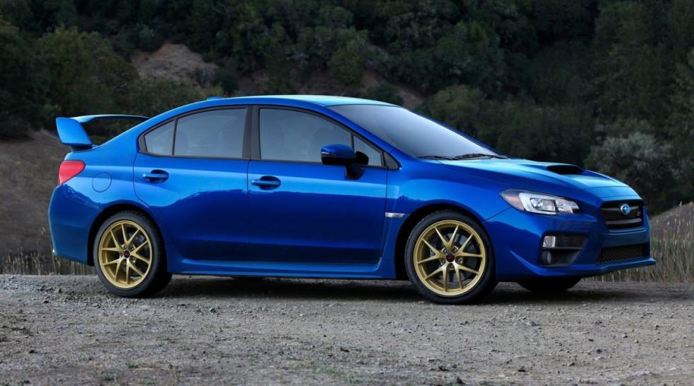 Subaru WRX STI delantera