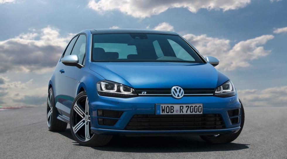 Volkswagen Golf R delantera