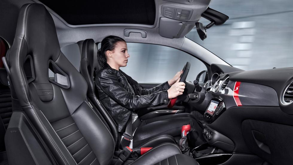 Opel Adam Rock S asientos