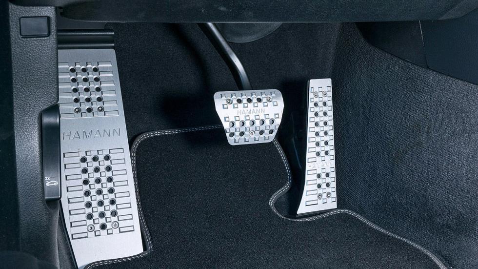 BMW 435i xDrive de Hamann pedales