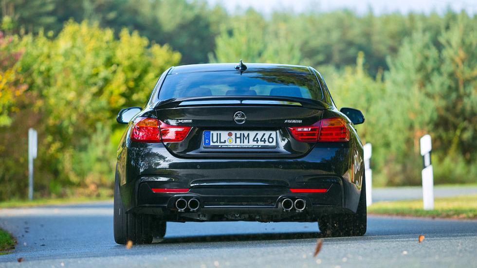 BMW 435i xDrive de Hamann curva