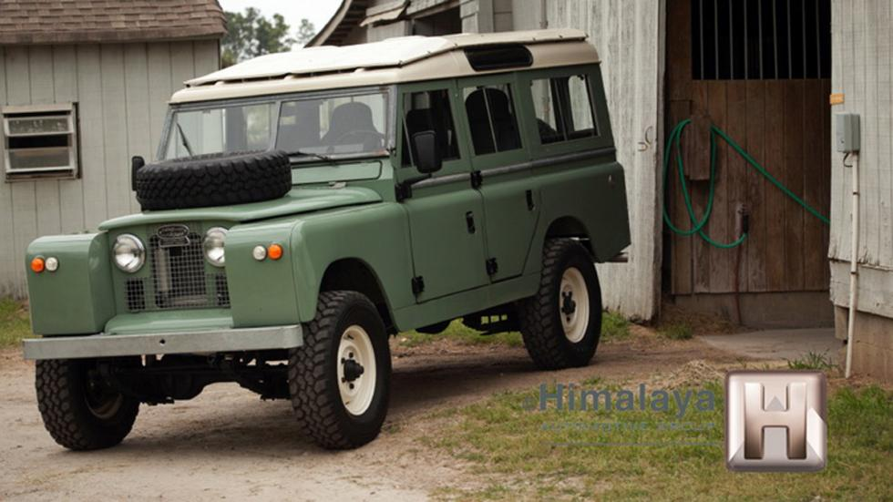 Land Rover modificado frontal