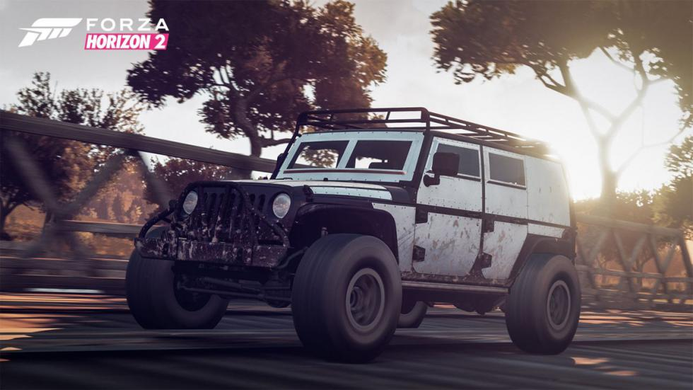 Forza Horizon 2 Furious 7 Car Pack - Jeep Wrangler Unlimited Armored