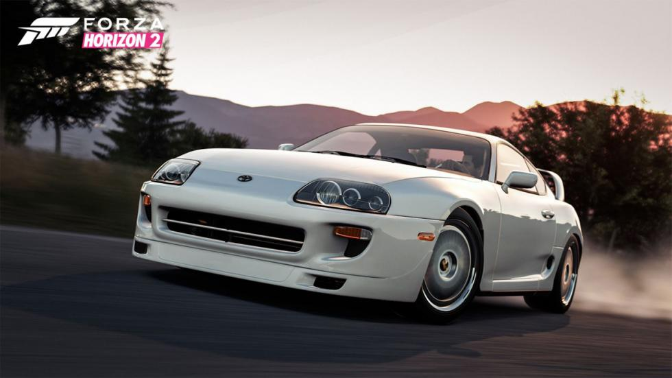 Forza Horizon 2 Furious 7 Car Pack - Toyota Supra 1998