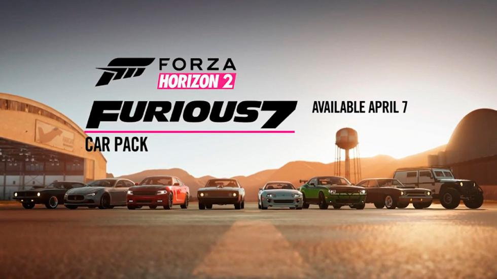 Forza Horizon 2 Furious 7 Car Pack - todos los coches
