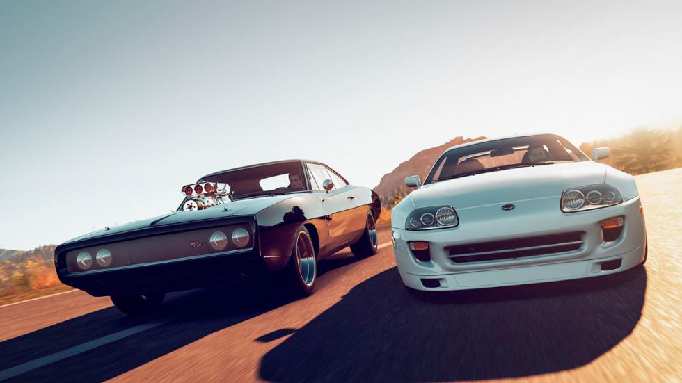 Forza Horizon 2 Furious 7 Car Pack -  Dodge Charger contra Toyota Supra