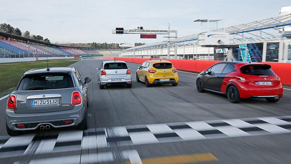 Nuevo Volkswagen Polo GTI contra sus rivales zagas