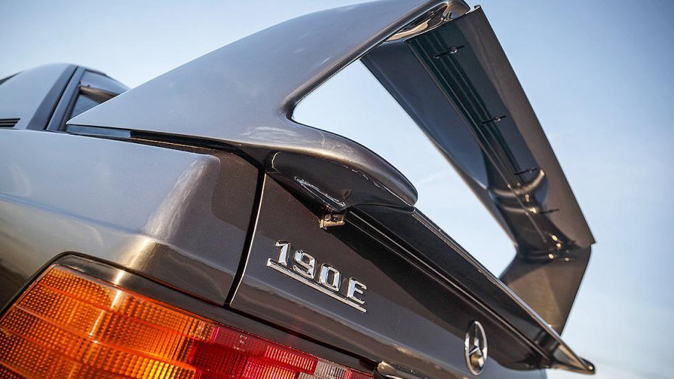 Mercedes 190 E 2.5-16 Evolution II lateral estática alerón