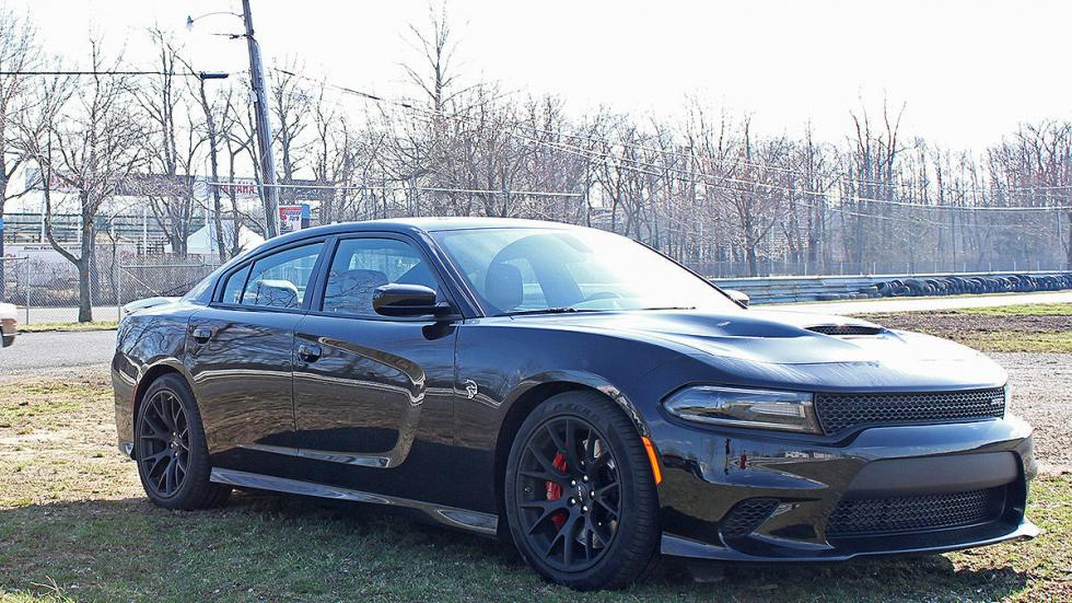 Dodge Charger SRT Hellcat lateral tres cuartos