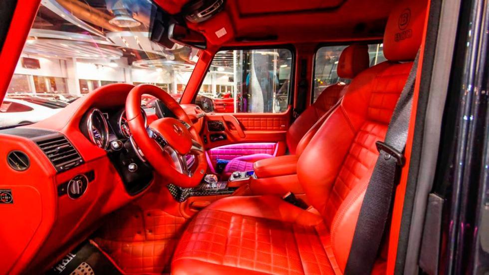 Mercedes G65 AMG Brabus asientos