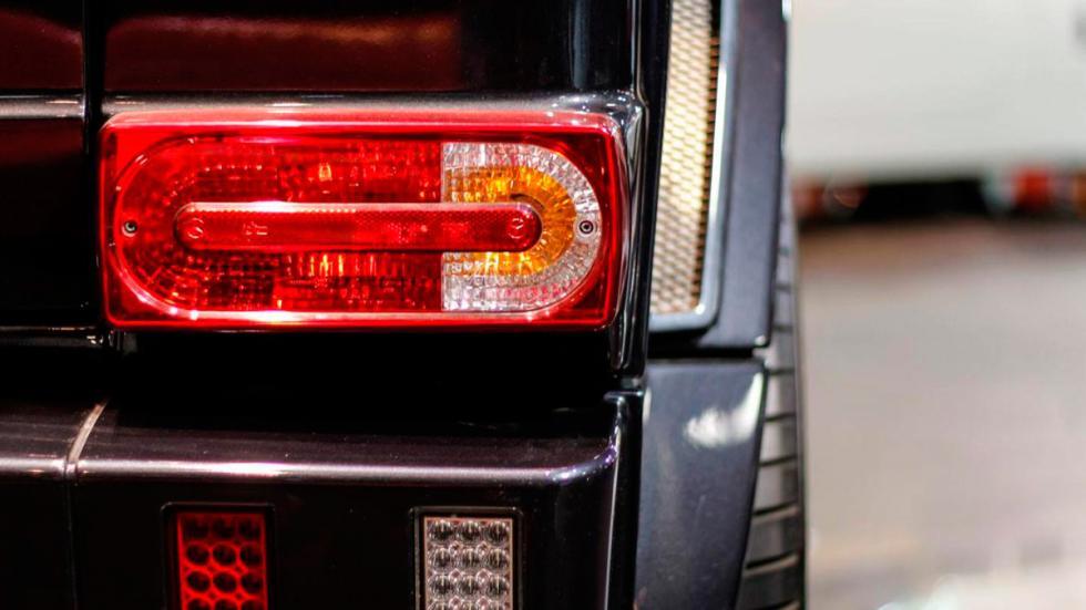 Mercedes G65 AMG Brabus faros