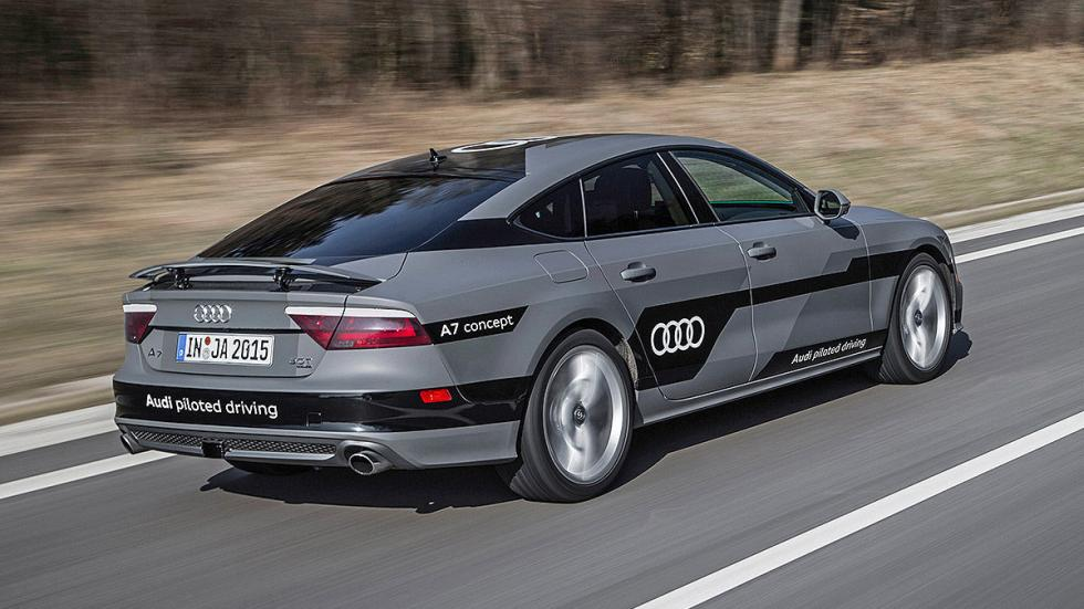 Audi A7 Piloted Driving Concept zaga
