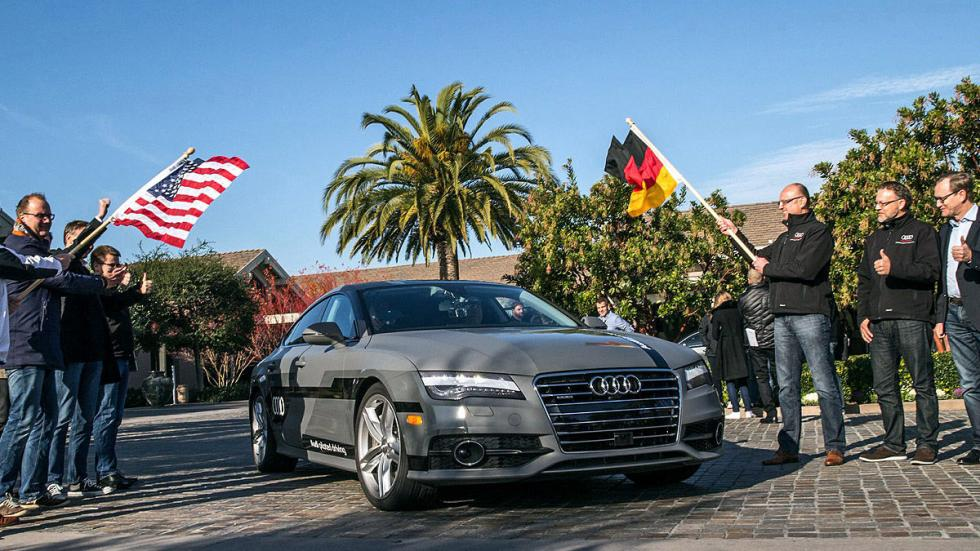 Audi A7 Piloted Driving Concept banderas