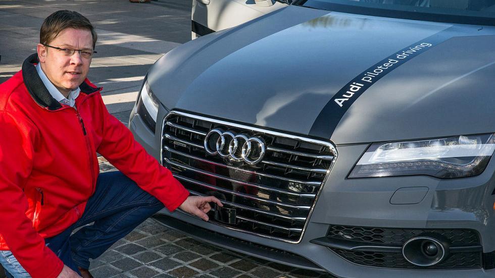 Audi A7 Piloted Driving Concept sensor