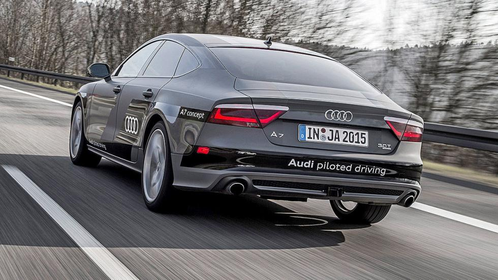 Audi A7 Piloted Driving Concept pilotos