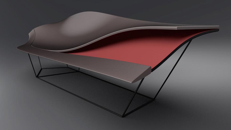Propuesta de 'chaise longue' de Ford