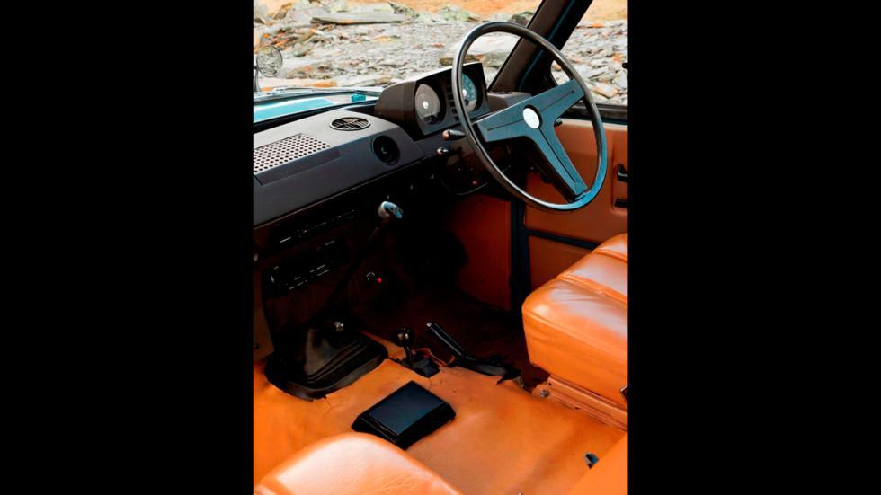 Land Rover Heritage interior