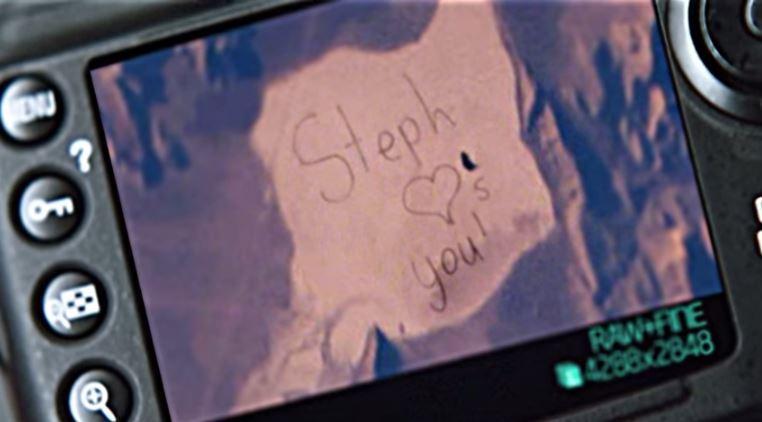 Imagen del mensaje desde el espacio