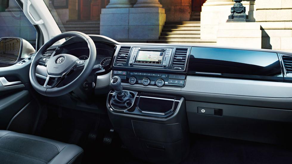 Volkswagen T6 2015 interior