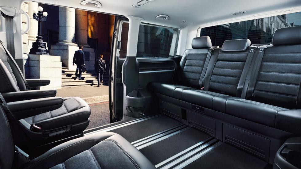 Volkswagen T6 2015 plazas traseras