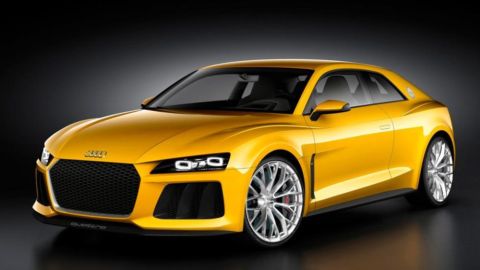 Audi Sport quattro delantera