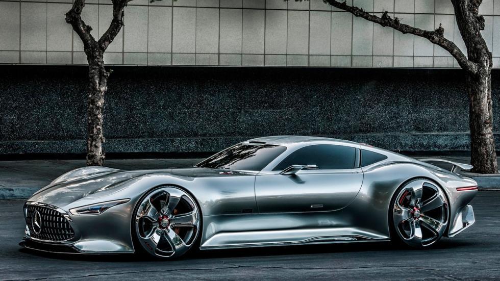 Mercedes Vision Gran Turismo Concept lateral