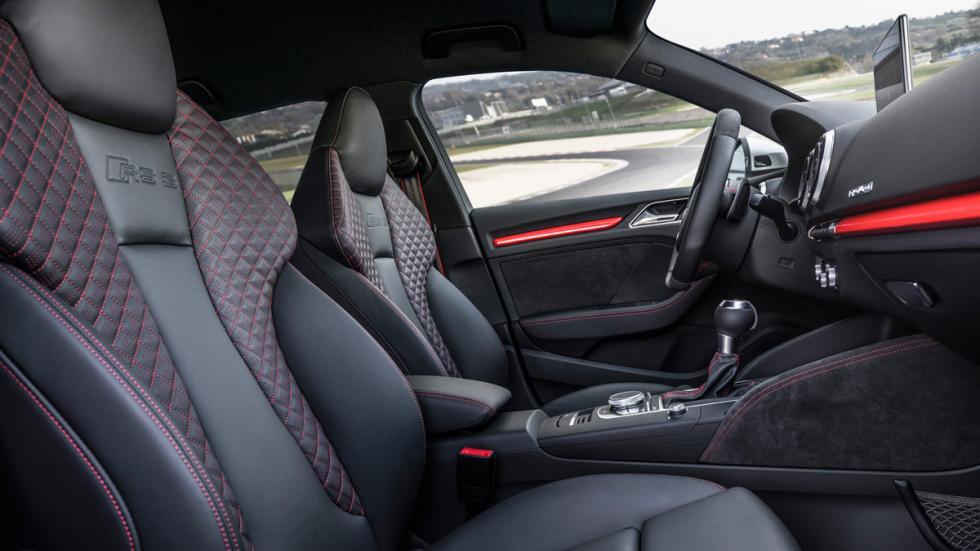 Audi RS 3 Sportback asientos