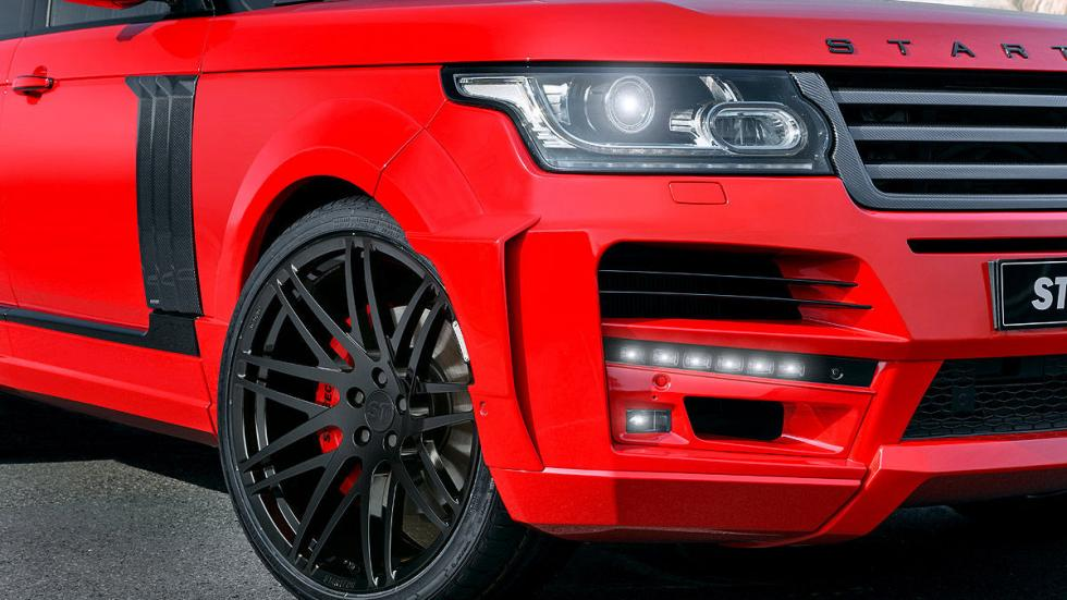 Startech Range Rover Pick-up faros