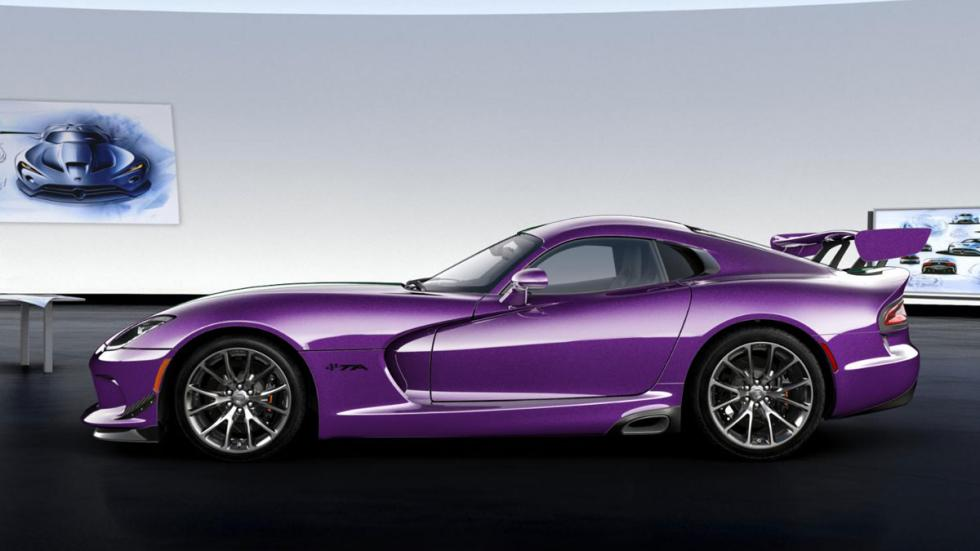 Dodge Viper GTC lateral